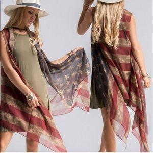 American Girl Shawl/Vest